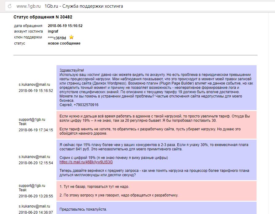 домен и хостинг бесплатно отзывы